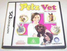 Nintendo DS - Petz Vet: My Pet Hotel game