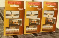 Vollmer 6550 3 x HO,TT+N Beleuchtung für Bahnsteige,Wagen,Gebäude, NEUWERTIG,OVP
