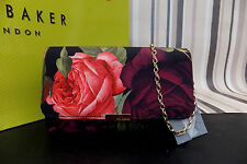 Ted Baker Genuine Black Butterfly Collective Leather Small Cross Body Bag