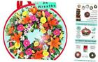 Seasonal Wreath Storage - Water Resistant Holder with Clear Plastic Front for