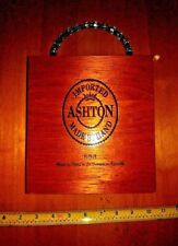 Custom Made Hand Bag/Purse Using A Aston Wooden Cigar Box Signed By The Artist