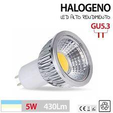 Halogenos LED GU10 GU5.3 MR16 en 3W 5W 7W blanco calido - frio lampara bombilla