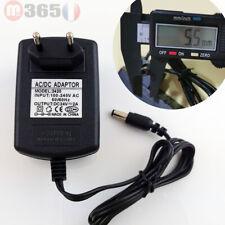 5.5mm * 2.5mm UE Plug Chargeur AC 100-240V À DC 24V 2A Adaptateur D'alimentation