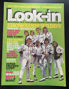 Look-in Magazine Junior TV Times 27 August 1977 Showaddywaddy Cover