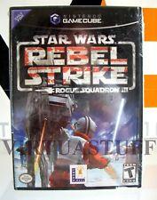 STAR WARS, REBEL STRIKE, ROGUE SQUADRON III 3, GameCube, USA, CA, factory sealed
