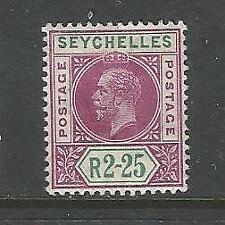 Seychellen, König Edward, Nr. 73 Falz *