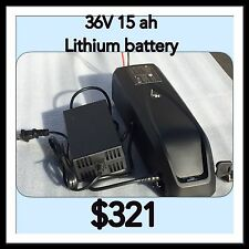 E Bike Battery ,Ebike Battery Kit ,36V 15ah Lithium Battery,Bicycle Battery