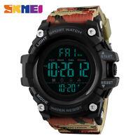 SKMEI Men Watch Military Digital Sport Watches LED Electronic Wristwatch 1384 7