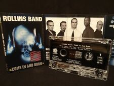 ROLLINS BAND Come In And Burn / 1997 / MC, CASSETTE ( EX ) MANSON, DEFTONES
