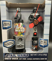 Star Wars Darth Vader Gift Set Gumball Machine and Candy Fan New Unopened LOOK