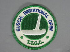 Busch Invitation Open Gold Tourenement patch / New/ Old Stock / FREE Shipping