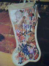 Toylande Christmas Stocking OOP Cross Stitch PATTERN (W)
