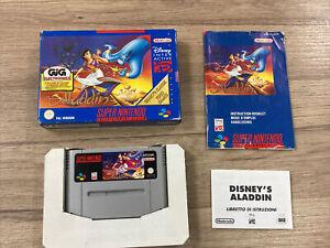 Aladdin - Super Nintendo SNES Nintendo - PAL