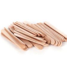 50pcs Ice Cream Stick Cake DIY Craft Wooden Popsicle Stick Original Timber Stick