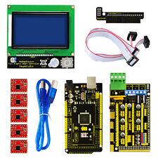 3D Printer Kit for Arduino Reprap RAMPS 1.4 Mega 2560 A4988 Drive 12864 LCD
