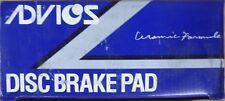 BRAND NEW ADVICS FRONT BRAKE PADS 089-1246 / D266 FITS VEHICLES ON CHART