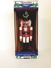 """Handcrafted 12"""" Old World Style Nutcracker by Michael Wolfe For Horizons East"""