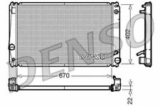 Denso Radiator DRM50052 Replaces 1640031420 53590