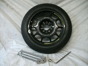 MERCEDES A CLASS ALLOY Space Saver Spare Wheel 125/85 R16 UNUSED JACKING KIT