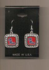 Ole Miss Mississippi Rebels Dangle Earrings