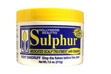 HOLLYWOOD BEAUTY SULPHUR MEDICATED SCALP TREATMENT W/CAMPHOR 7.5 OZ.