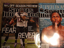 2013 SPORTS ILLUSTRATED BALTIMORE RAVENS RAY LEWIS 2 ISSUEs Barcode version Supe