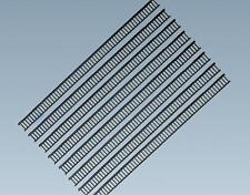 FALLER HO scale ~ BLACK RAILING 108 CM LONG ~ PLASTIC MODEL # 180401