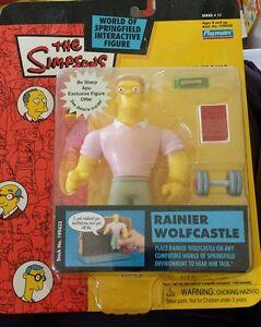 The Simpsons WORLD OF SPRINGFIELD- Rainier Wolfcastle -Series 11 Figure- NEW!