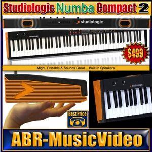 Studiologic Numa Compact 2 88-Key Portable Keyboard/ 2 Year Manufacture Warranty