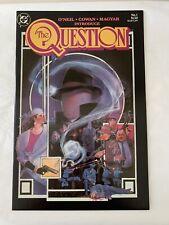 THE QUESTION #1 ==> NM- DENNY O'NEIL DC COMICS 1987