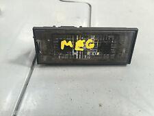 Genuine Renault Megane Master Number Plate Light 8200480127
