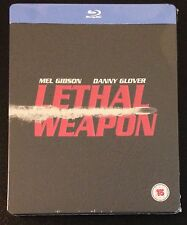 LETHAL WEAPON Blu-Ray SteelBook Zavvi UK Exclusive Ultra Ltd Region ABC OOP Rare