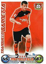 190 Tranquillo Barnetta - Bayer Leverkusen - TOPPS Match Attax 2009/2010