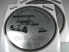 1970s VINTAGE 2x grande CAN AM Chevy auto CAST AUTO ADESIVI 22cm Adesivo Top