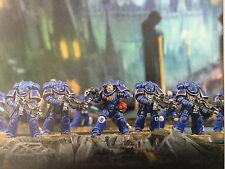 warhammer 40000 Primaris Space Marines intercessors intercessor squad !5 Stück!