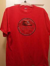 St. Louis Cardinals Men's Short Sleeve T- Shirt, Size XL, Preowned