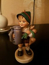 Hummel 87 For Father Tmk5 Boy With Stein And Turnips 5 1/2� Tall