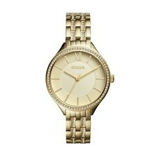ORIGINAL FOSSIL Women's Ladies Watch Gold Stainless Steel  Suitor BQ3117 36mm