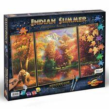 Schipper 609260650 - Malen Nach Zahlen - Indian Summer (Triptychon) - Neu