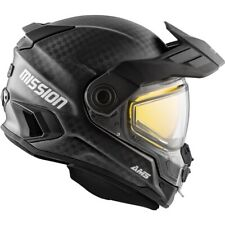 Ckx Ams Mission Carbon Helmet w/ Electric Shield (Edl) Offers Accepted