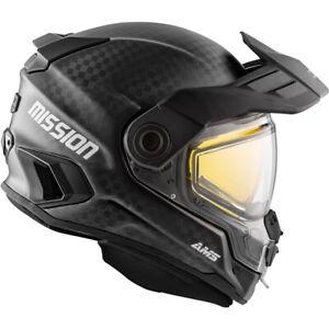 CKX Mission AMS Carbon Fiber Snowmobile Helmet Full Face 512394 512395