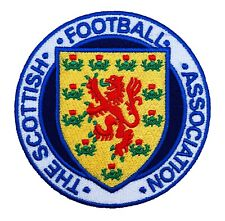Scotland Football Crest Patch Embroidered Iron on Scottish FA Badge Soccer 2020