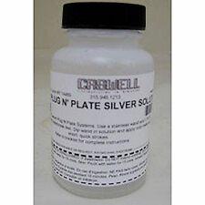 4 oz Plug N Plate  Silver Metal Plating Solution (Refill)
