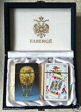 Faberge Playing Cards - 2 Decks - New In Faberge Presentation Box