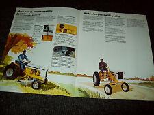1975 CUB 185 LO-BOY AND CUB TRACTOR BROCHURE ADVERTISING LIT