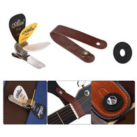Guitar Accessory Kit Acoustic Guitar Neck Strap + Guitar Strap Rubber Lock F0I4