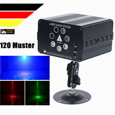 7 Lens LED Projektor RGB Laser Beleuchtung Bühnenlicht DJ Disco Party Show