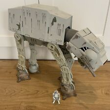 Star Wars 1997 Vintage muddy At-At - Working Electrics With Driver
