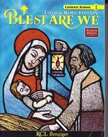 Blest Are We Faith & Word Ed Catholic School Gr 1 Roman Missal 3rd Ed NO WRITING