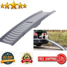 Pet Ramp 3-Way Foldable Plastic Dog Cat Indoor Outdoor Non Slip Rubber Feet